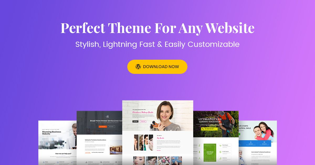 motywy wordpress wp astra