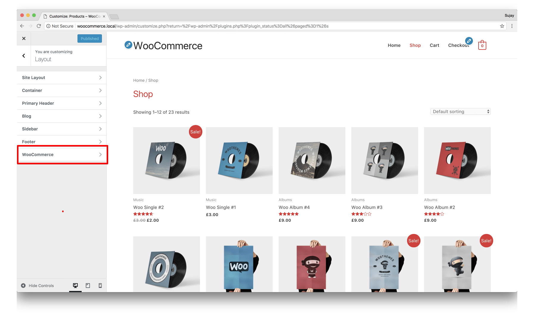 modify woocommerce single product page