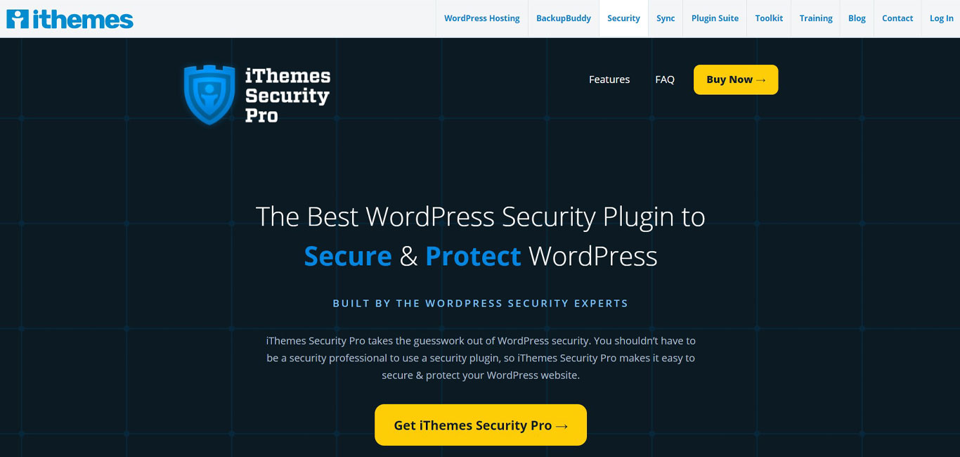 iThemes security plugin site