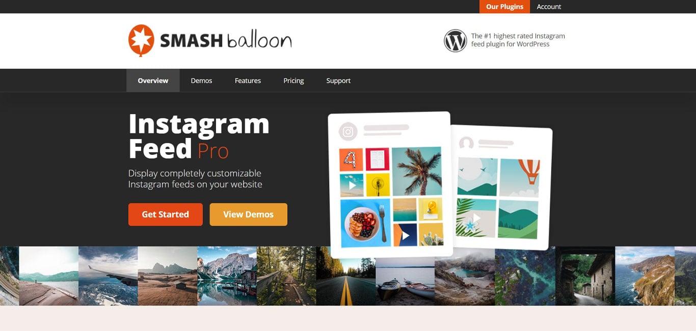 Smash balloon plugin site