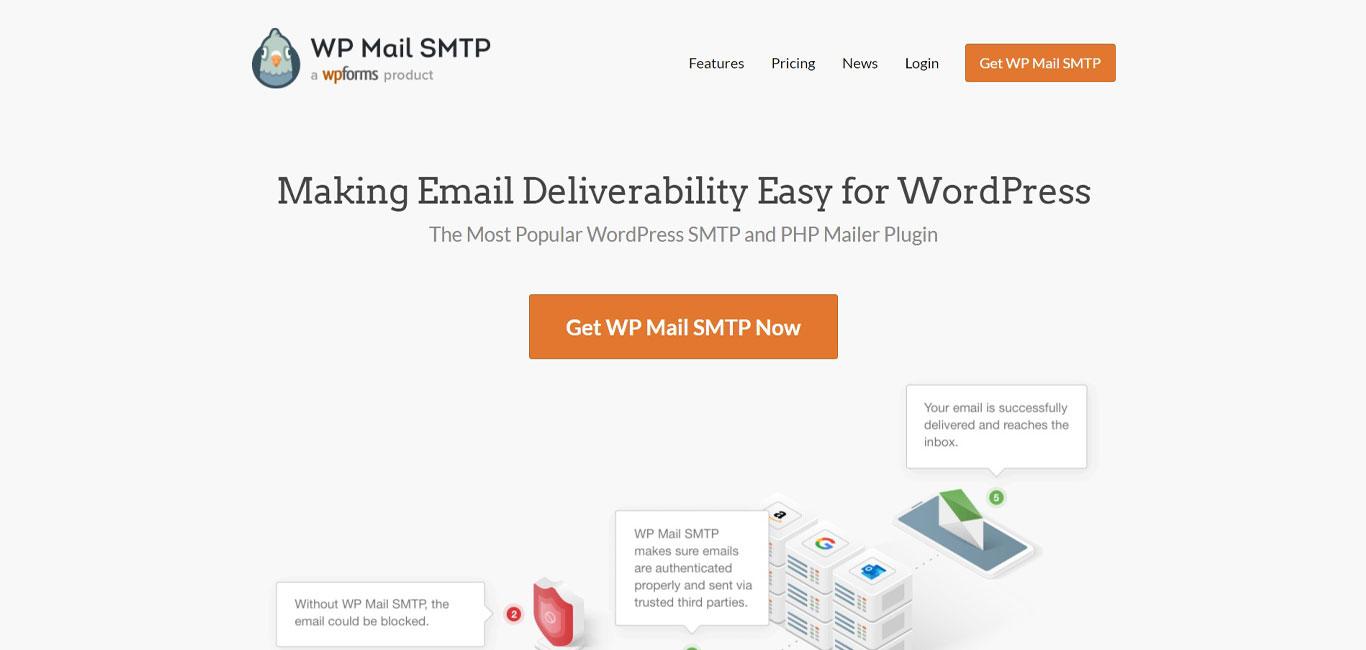 WP mail smtp plugin image