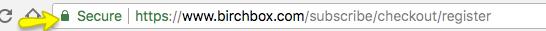 Birchbox SSL