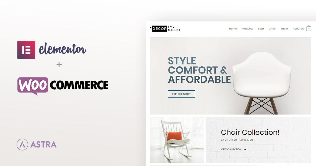 How To Build A WooCommerce Website With Elementor & Astra Theme