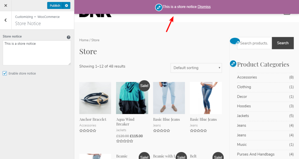 eCommerce Website With Elementor