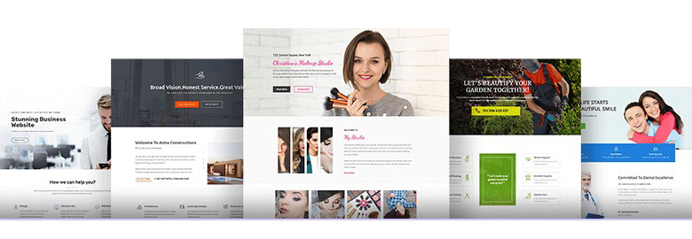 Website templates image