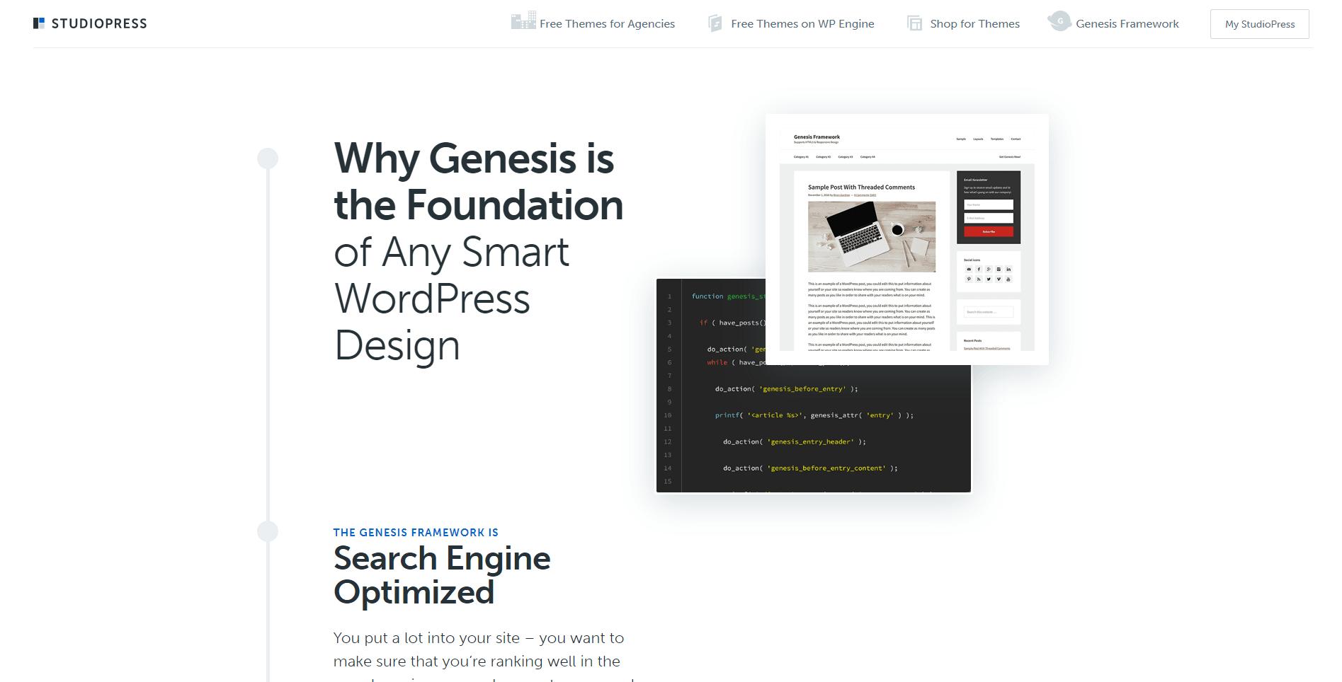 Genesis site image