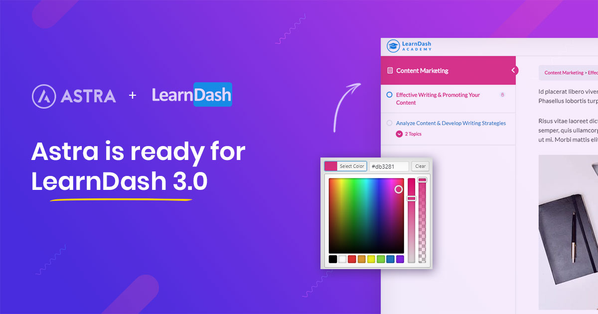 Astra with LearnDash 3.0