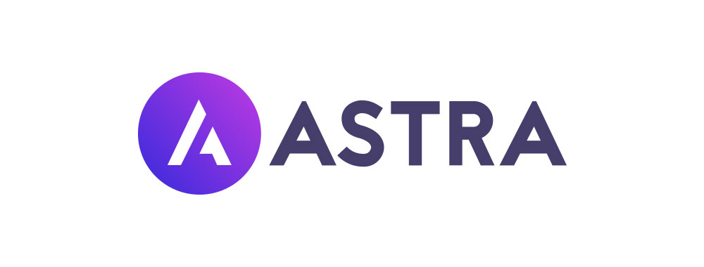The logo of the Astra theme