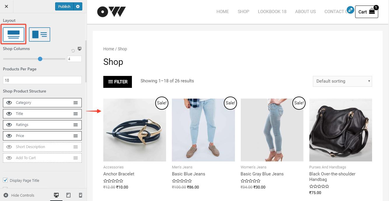 Shop WooCommerce   Astra