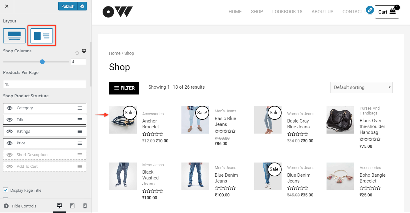 Shop WooCommerce | Astra