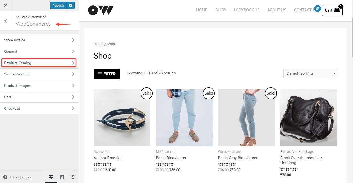 Shop WooCommerce | Astra