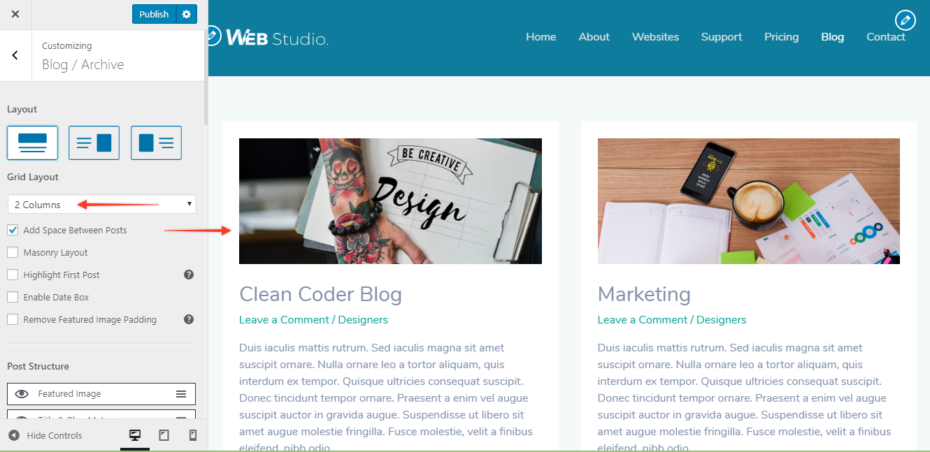 Blog / Archive with Blog Pro | Astra