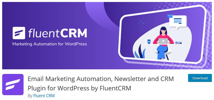 Fluent CRM WordPress plugin