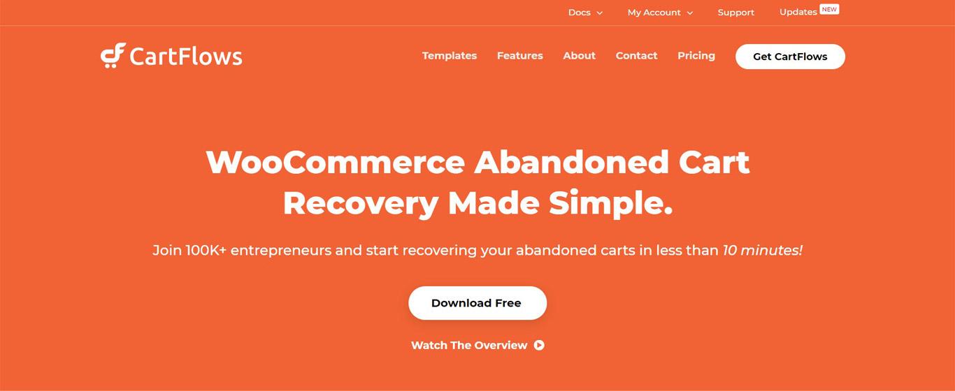 Cart abandonment recovery plugin image