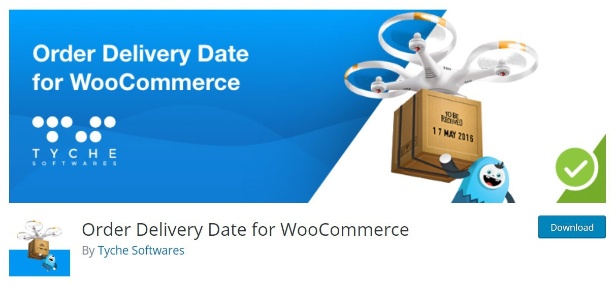 Order delivery date plugin site image