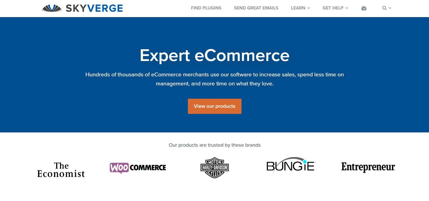 Skyverge plugin site