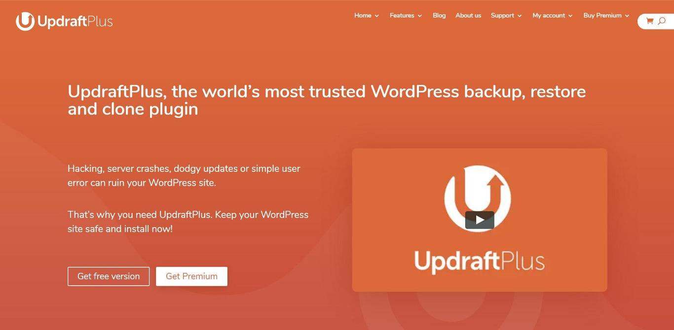 Updraftplus plugin site