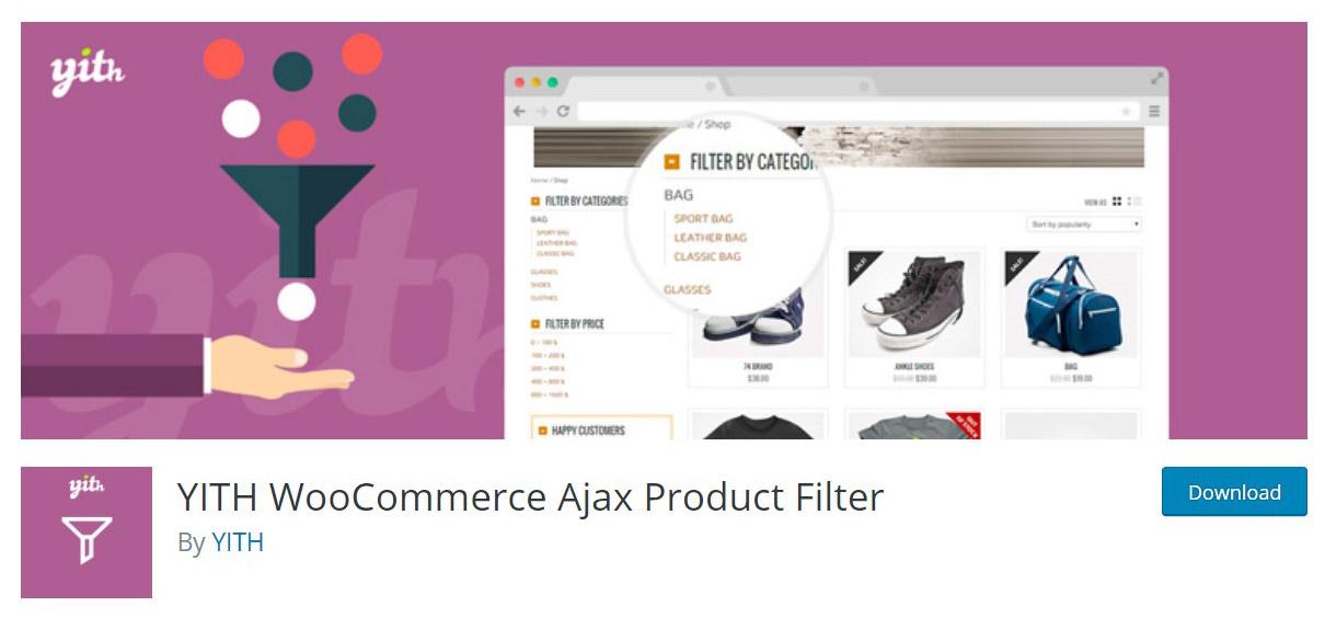 WooCommerce ajax product filter plugin