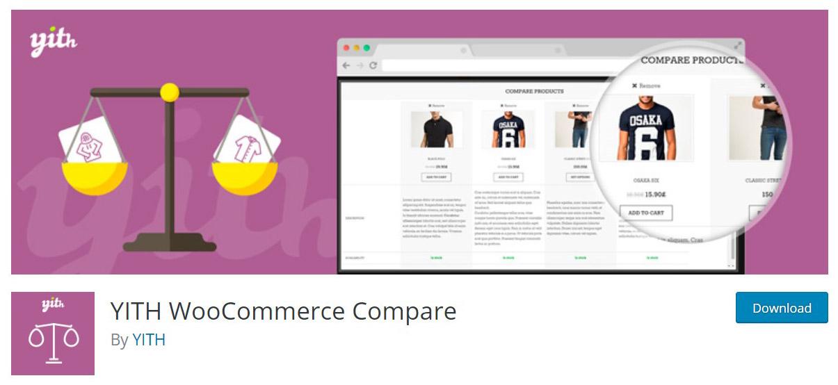 WooCommerce compare plugin