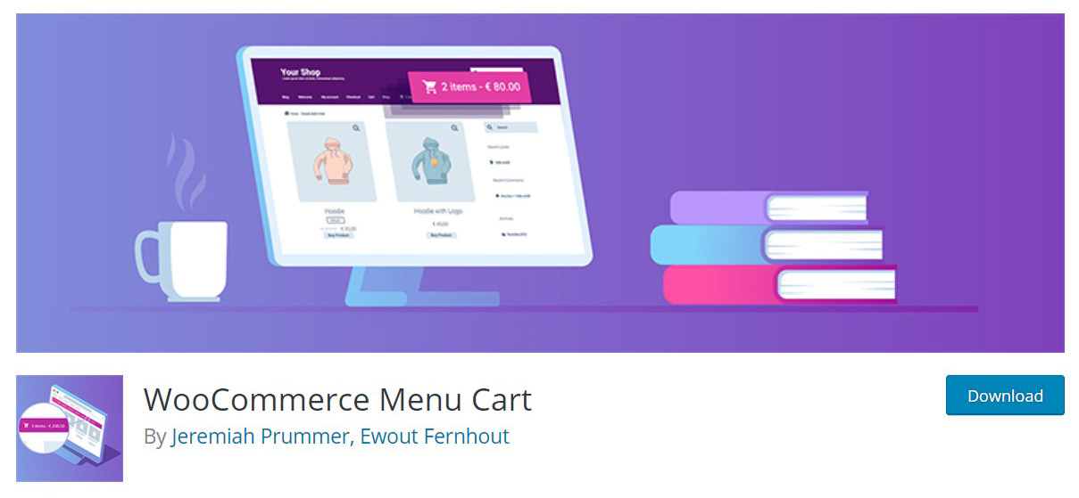 WooCommerce menu cart plugin