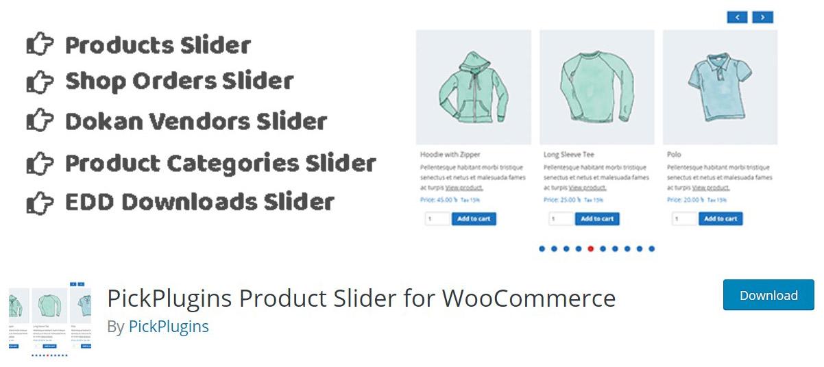 WooCommerce products slider plugin image