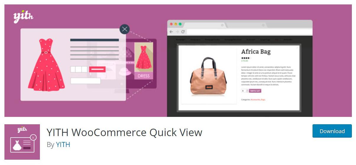 WooCommerce quick viewplugin