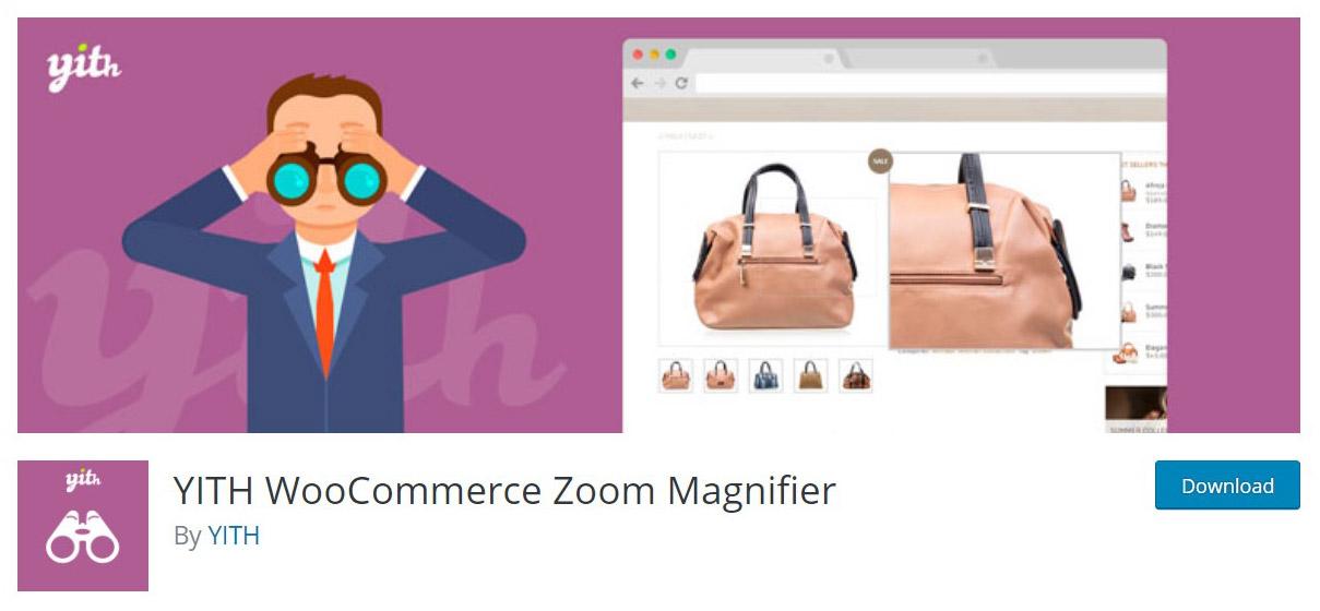 WooCommerce zoom magnifier plugin