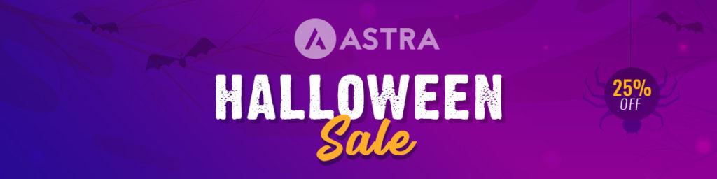 Astra Halloween Sale