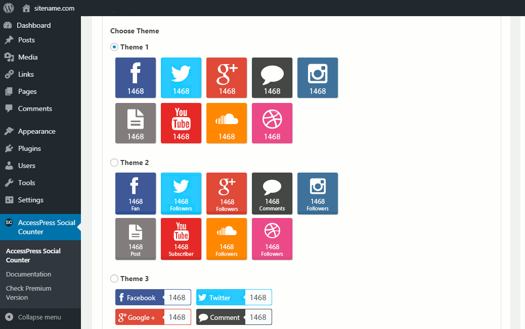 Accesspress Button Themes