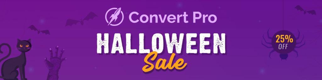 Convert Pro Halloween Sale