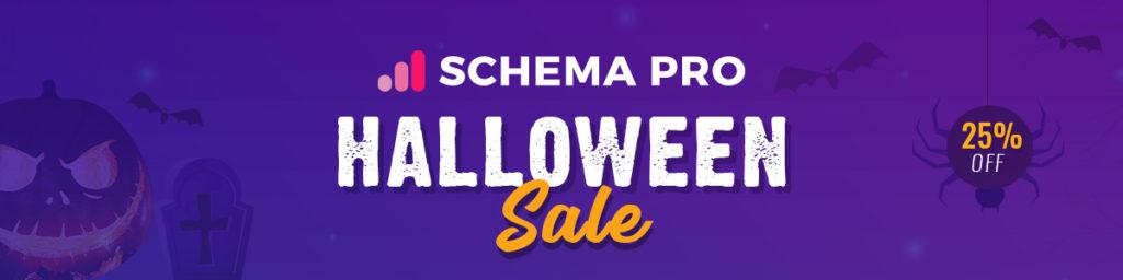 Schema Pro Halloween Sale