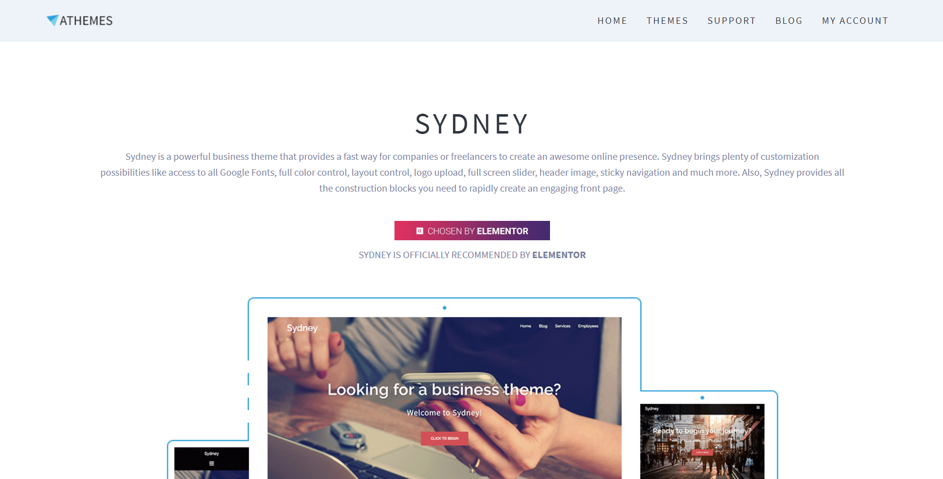 Sydney site image