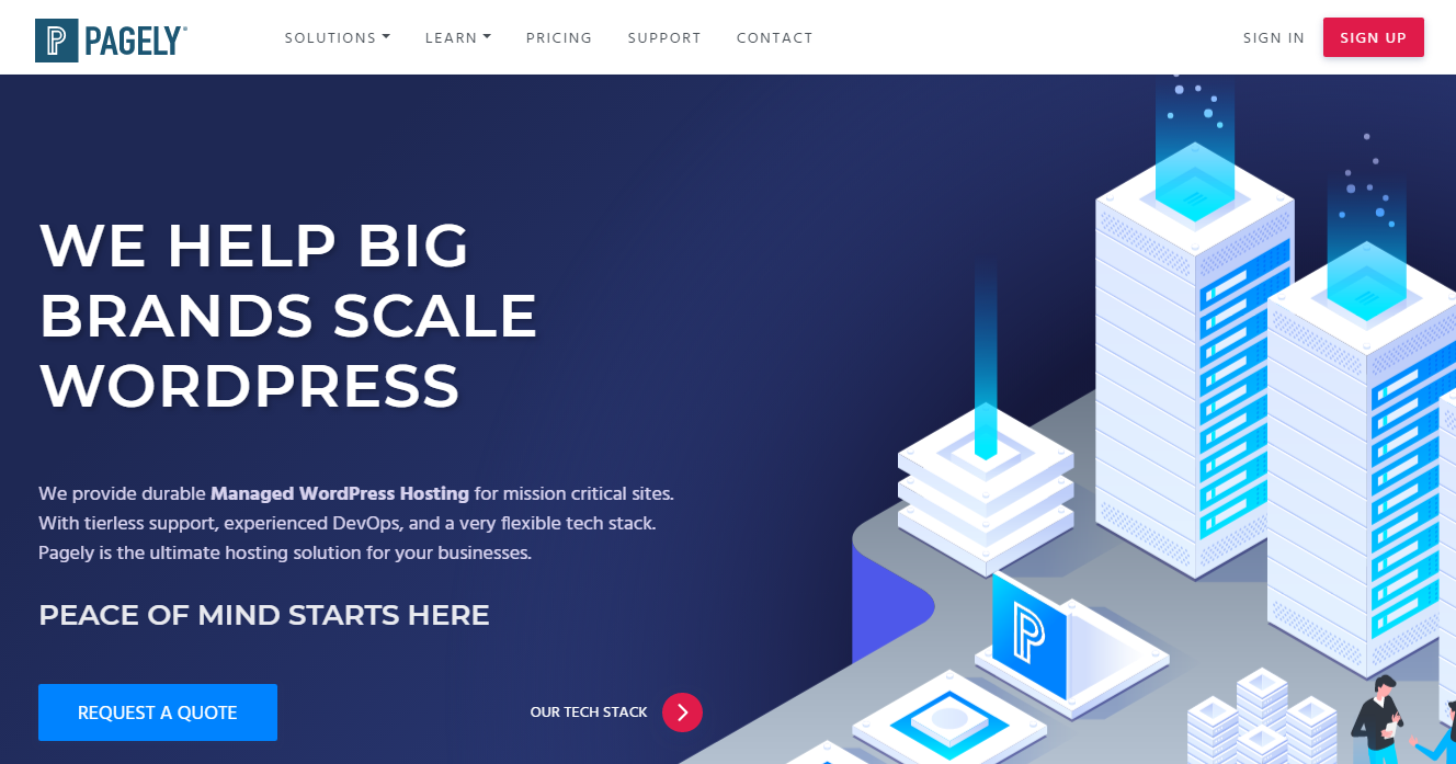 Pagely - WooCommerce Hosting Provider