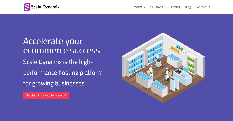 ScaleDynamix - WooCommerce Hosting Provider