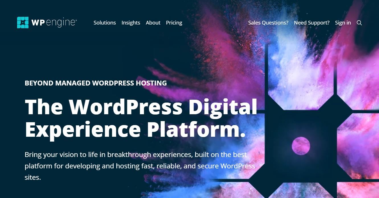 WP Engine - WooCommerce Hosting Provider