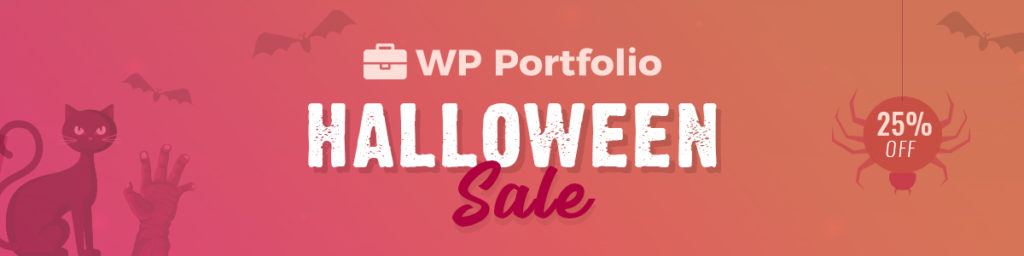 WP Portfolio Halloween Sale