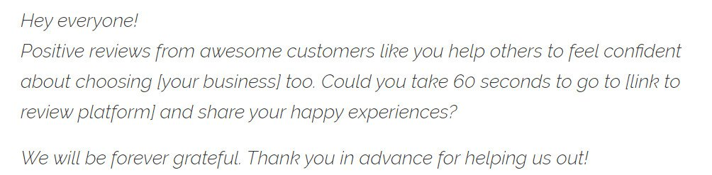 Sample Email To Client For New Business from wpastra.com