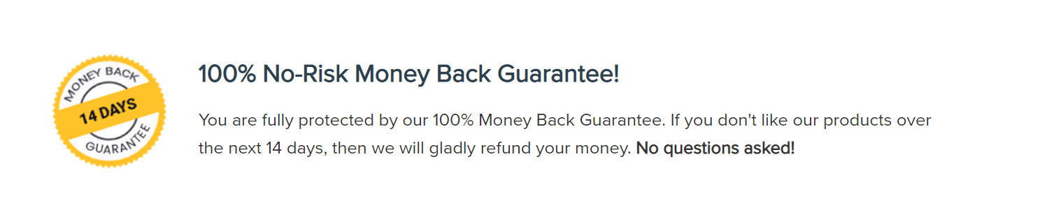 Astra - 100% money back guarantee