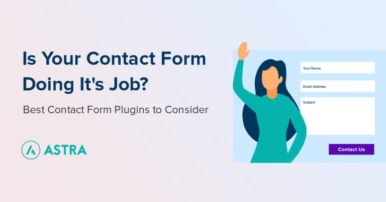 WordPress Best Contact Form Plugins