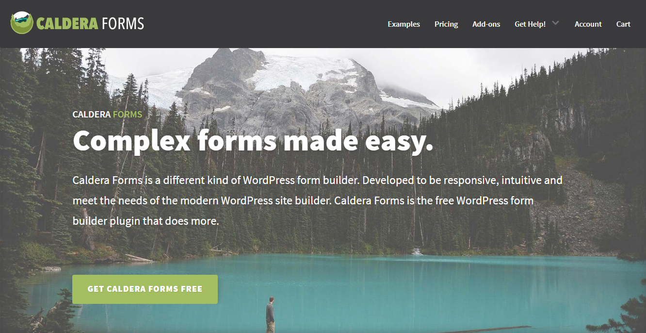 Best Contact Forms - Caldera Forms