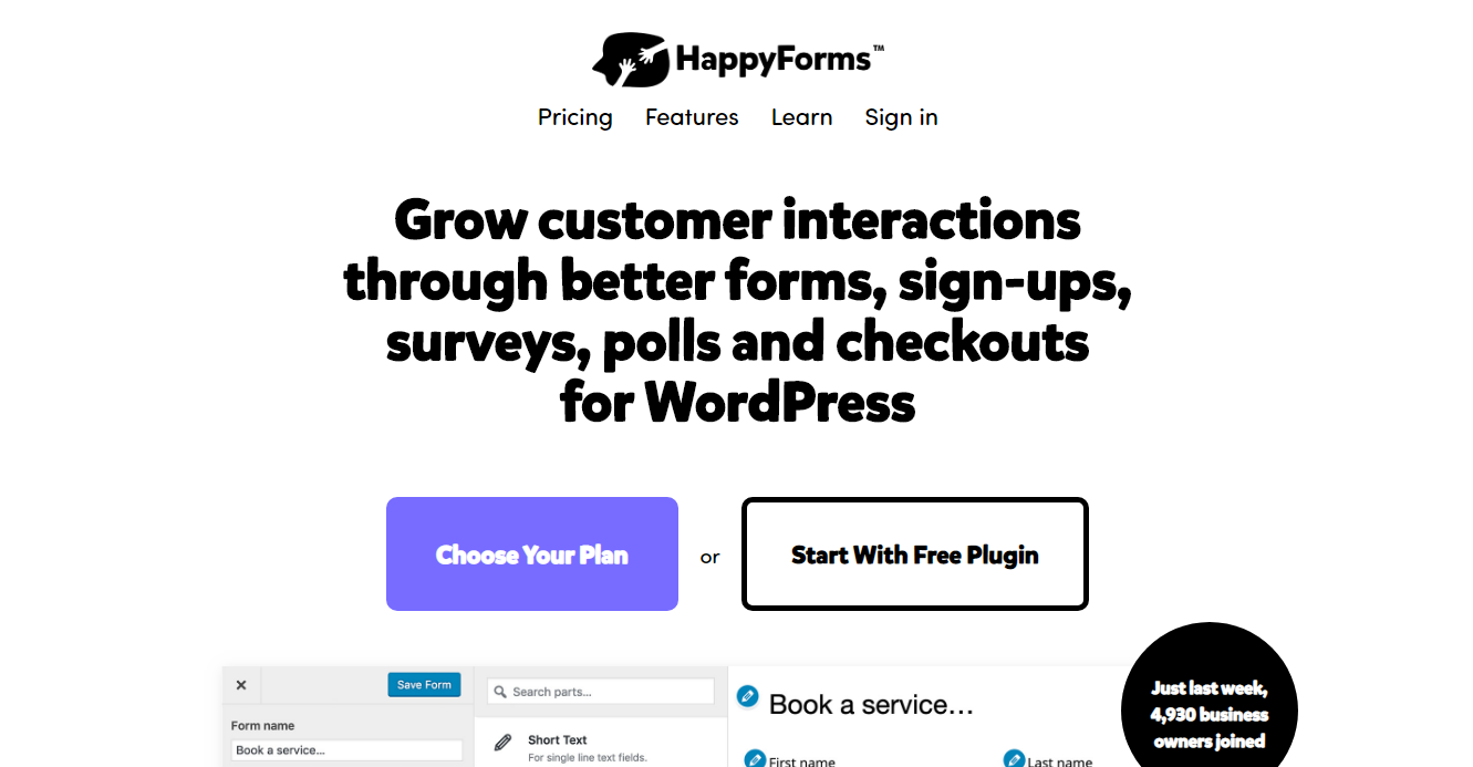 Best Contact Forms - Happy Forms