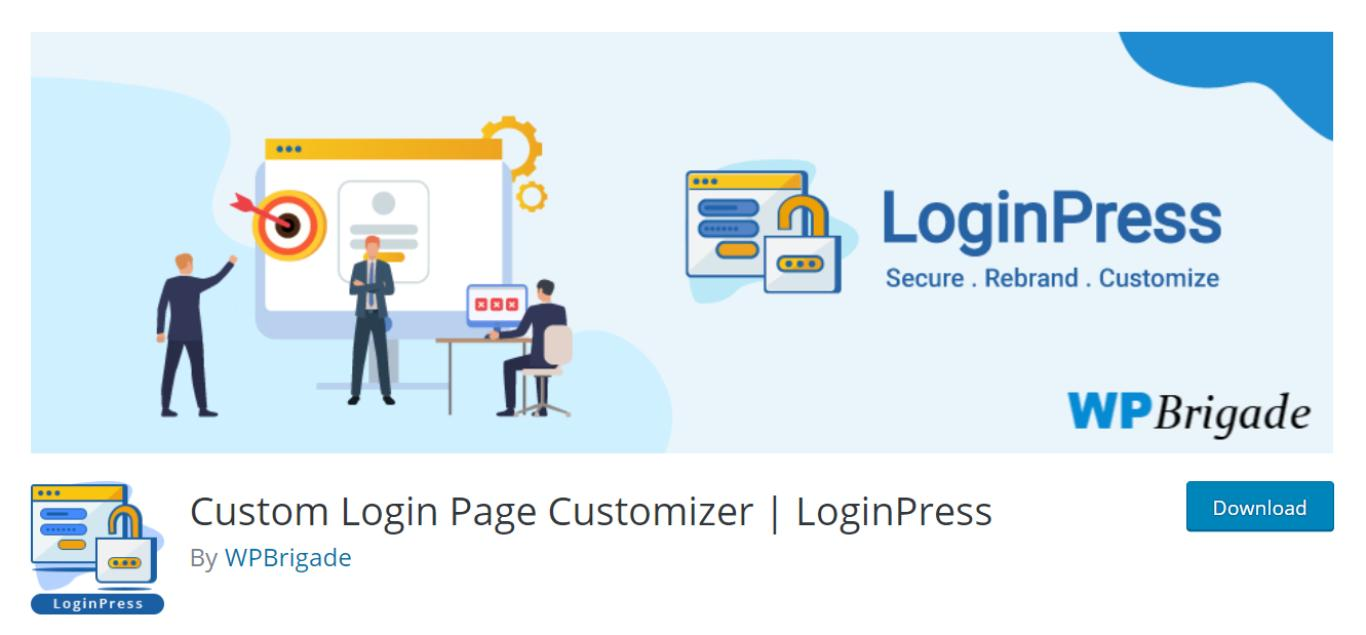 Custom Login Page Customizer - LoginPress.