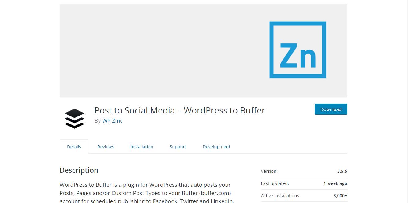 Social Media Plugins - Post to Social Media