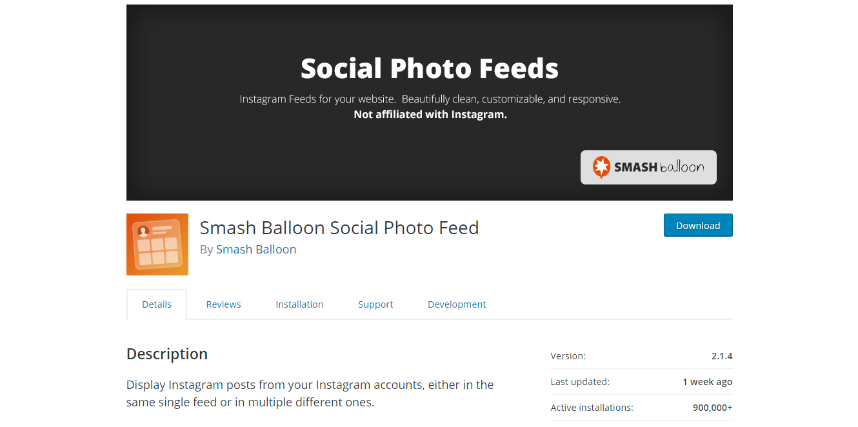 Social Media Plugins - Smash Balloon