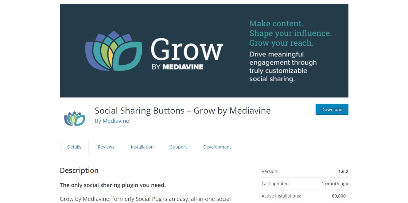 Social Media Plugins - Social Pug