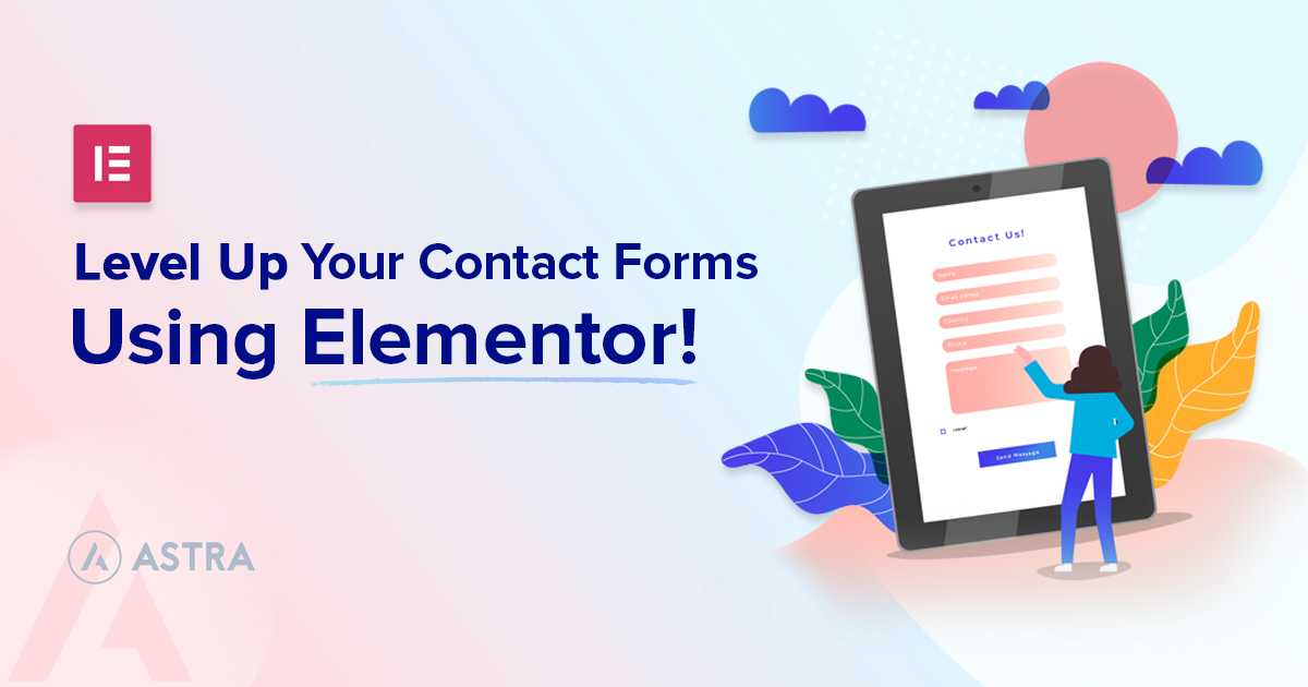 How To Create Contact Forms With Elementor banner