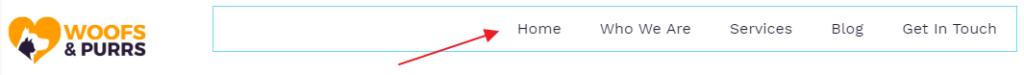 Add nav menu elementor settings