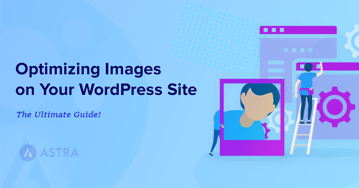 optimizing images on your wordpress site banner