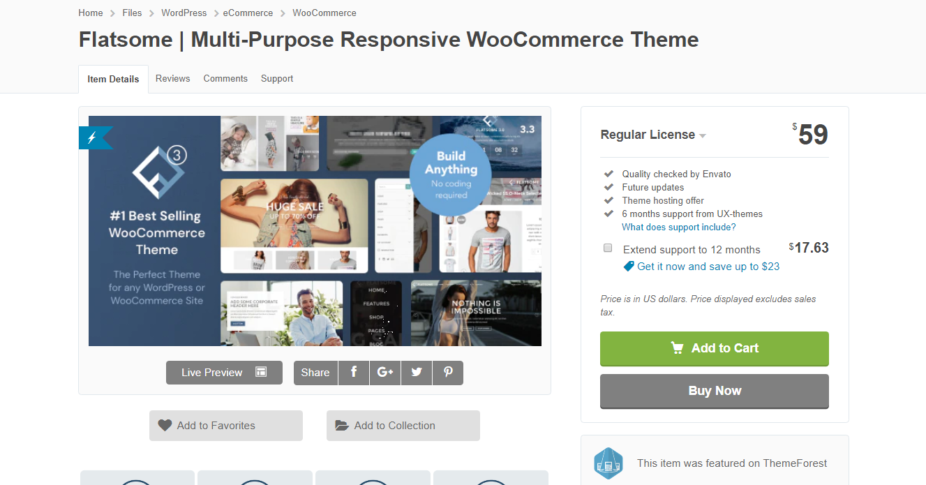Best WooCommerce Themes - Flatsome