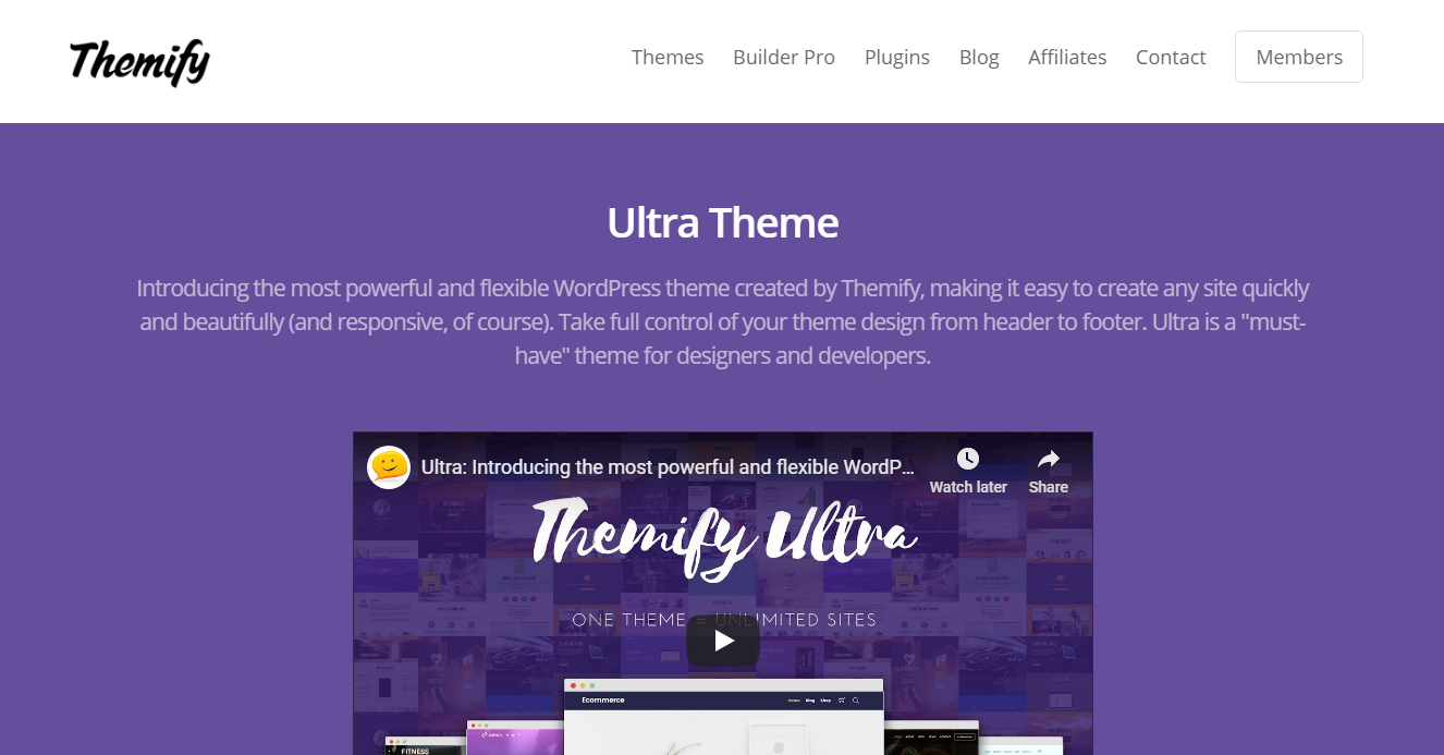 Best WooCommerce Themes - Ultra